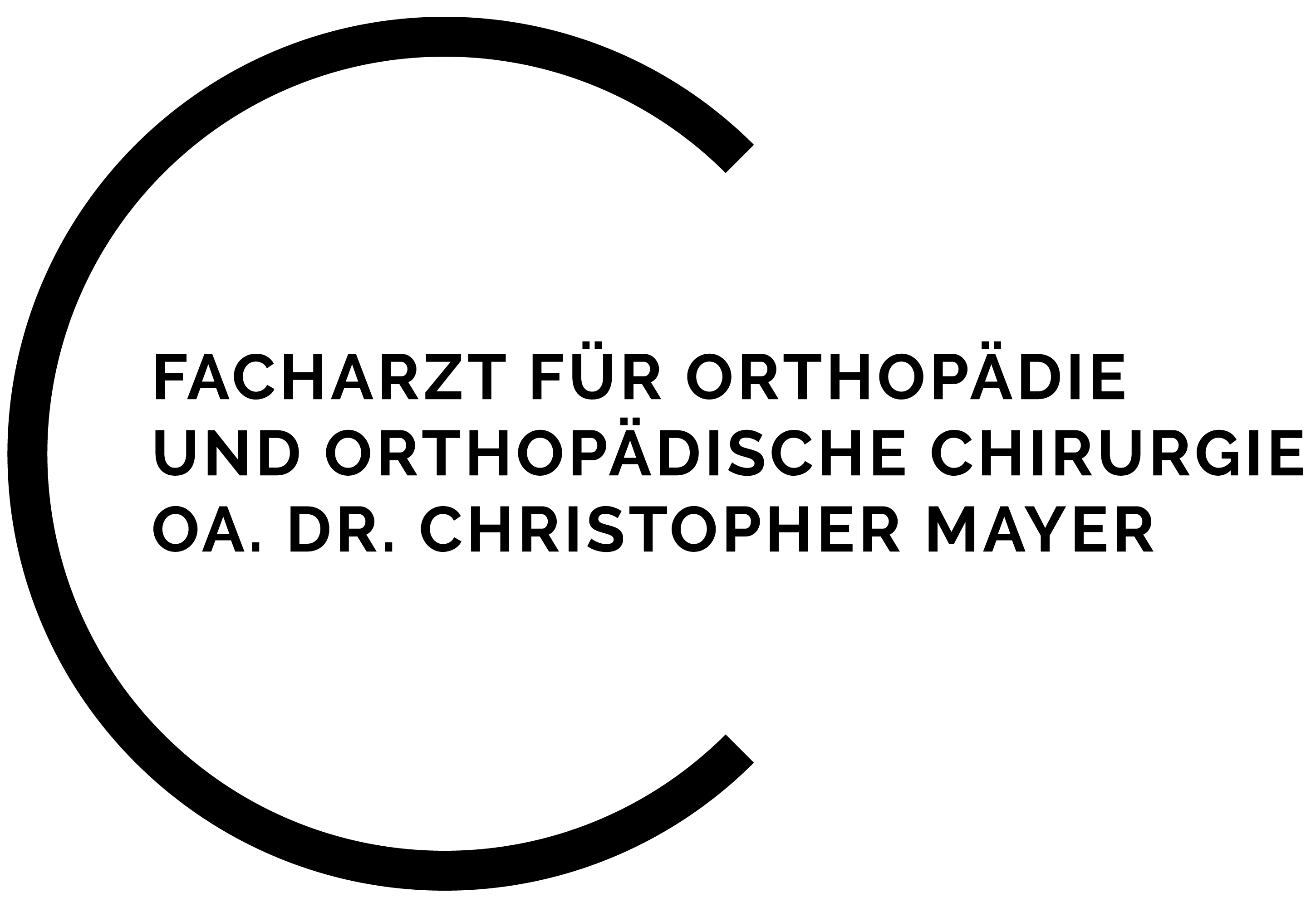 Orthopädie Dr. Christopher Mayer